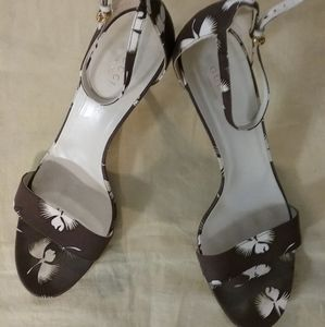 Authentic Gucci Spring Flower Heels